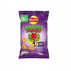 Walkers Monster Munch Pickled Onion Chips_6 Pack