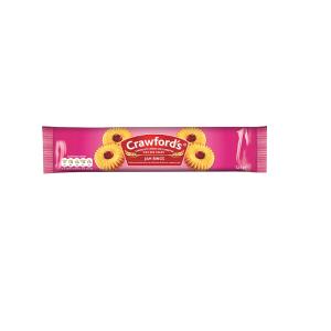 Crawfords Jam Rings Biscuits